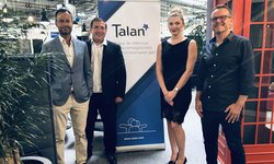 Talan's team our new offices in Lausanne